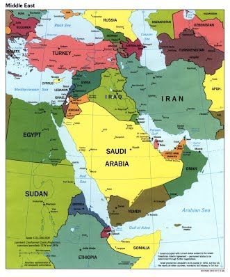 Sample Lesson Geography of the Middle East Ms Salyers Class