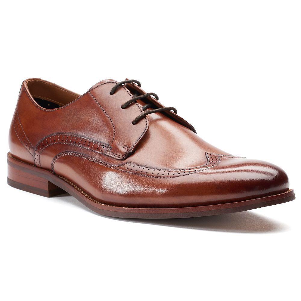 Apt mylo menus wingtip dress shoes size medium dark