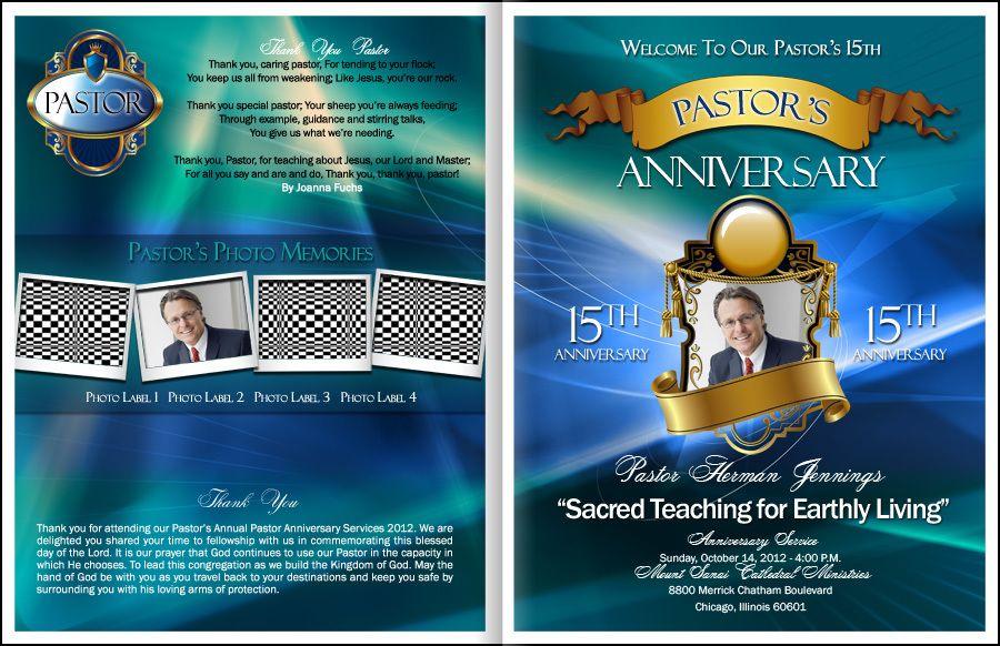 Loyalty Pastor Anniversary Program Kingdomprograms Com Pastor Anniversary Pastor