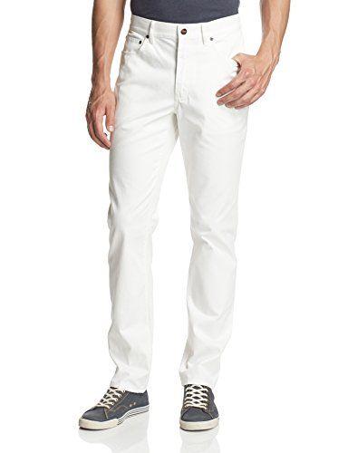 Grayers Men's Five Pocket Canvas Pants (Eggshell)