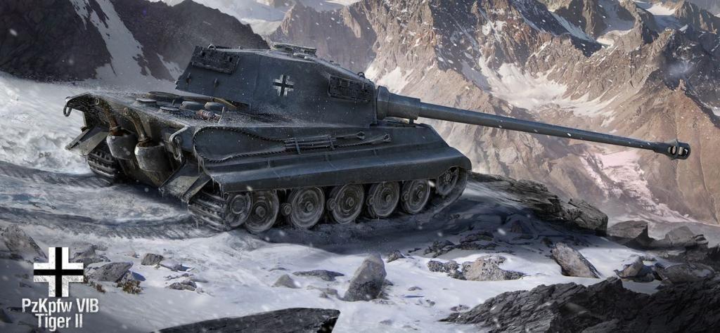 Обои тигр танк на рабочий стол 5