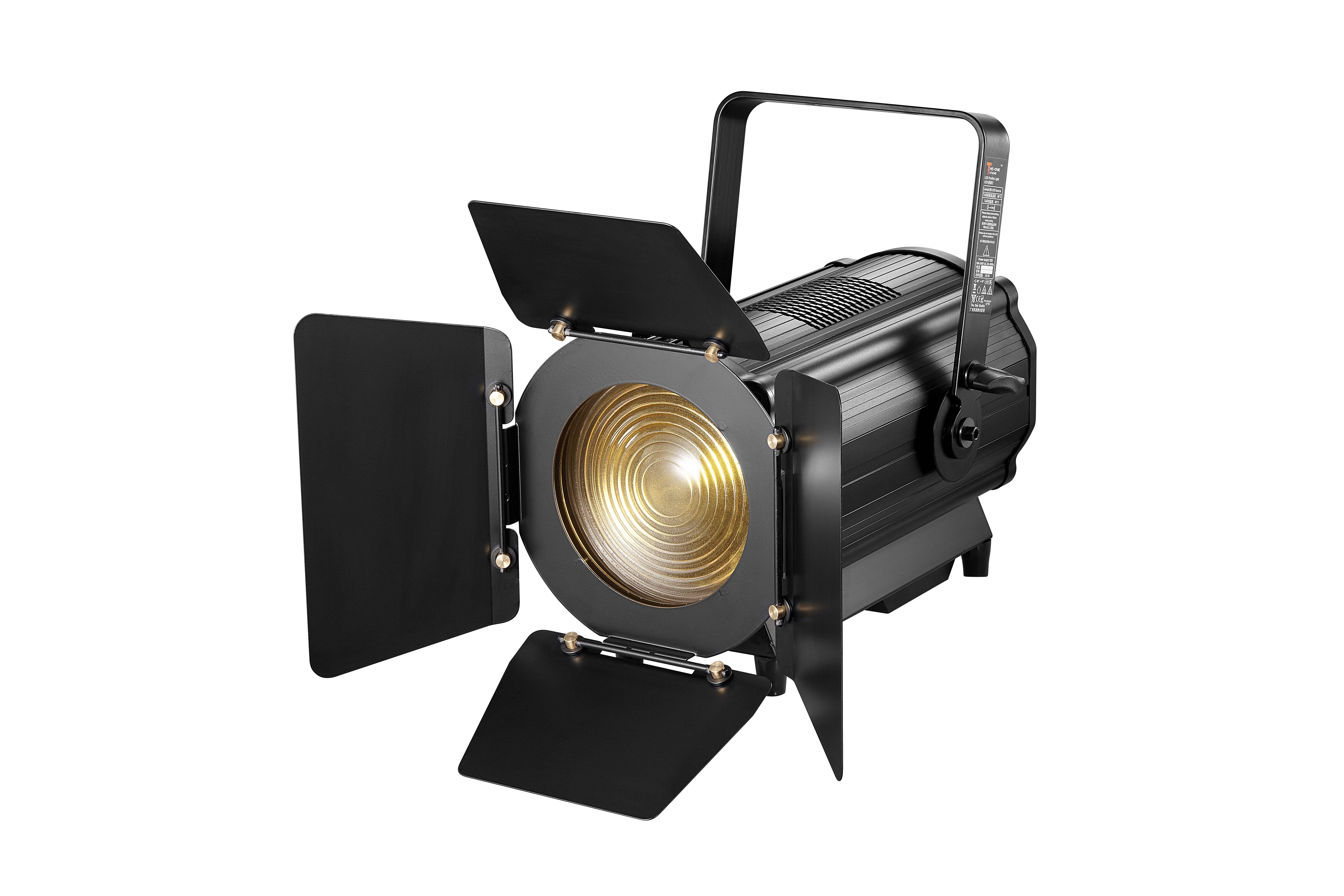 300w Auto Zoom Led Fresnel Light Stage Lighting Power Led Stage Lighting Design