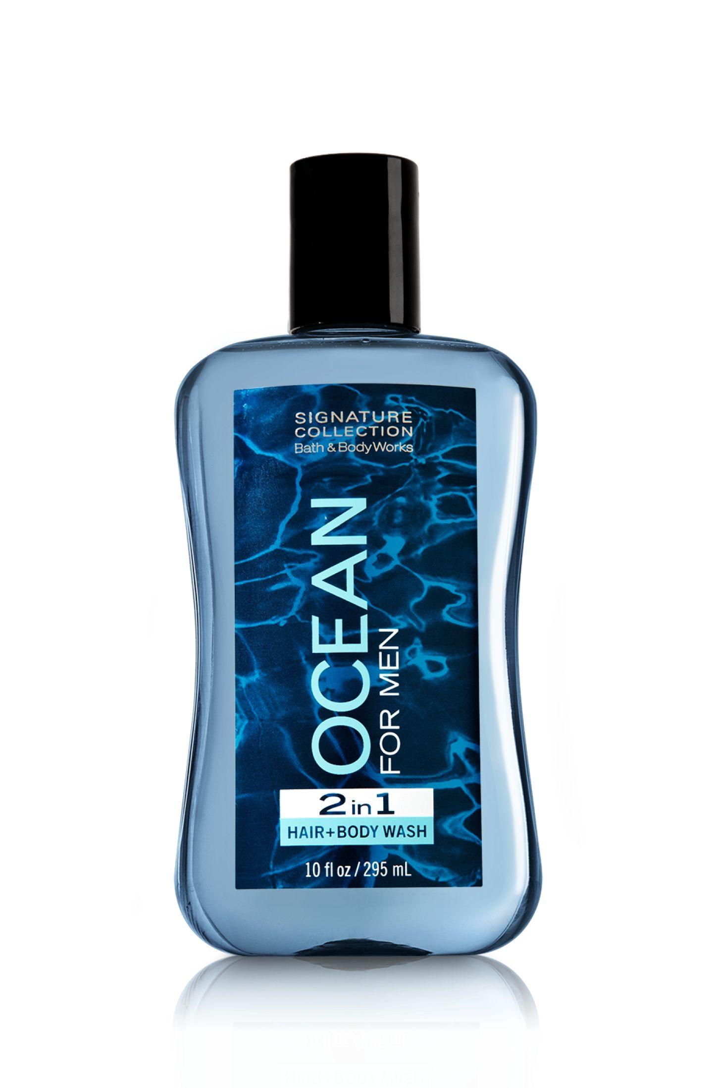 Ocean 2 In 1 Hair And Body Wash Bath Body Works Men S Bath