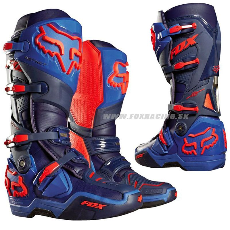 Instinct Given 14 Motorcycle Boots Motocizmy Foxracing Dirt