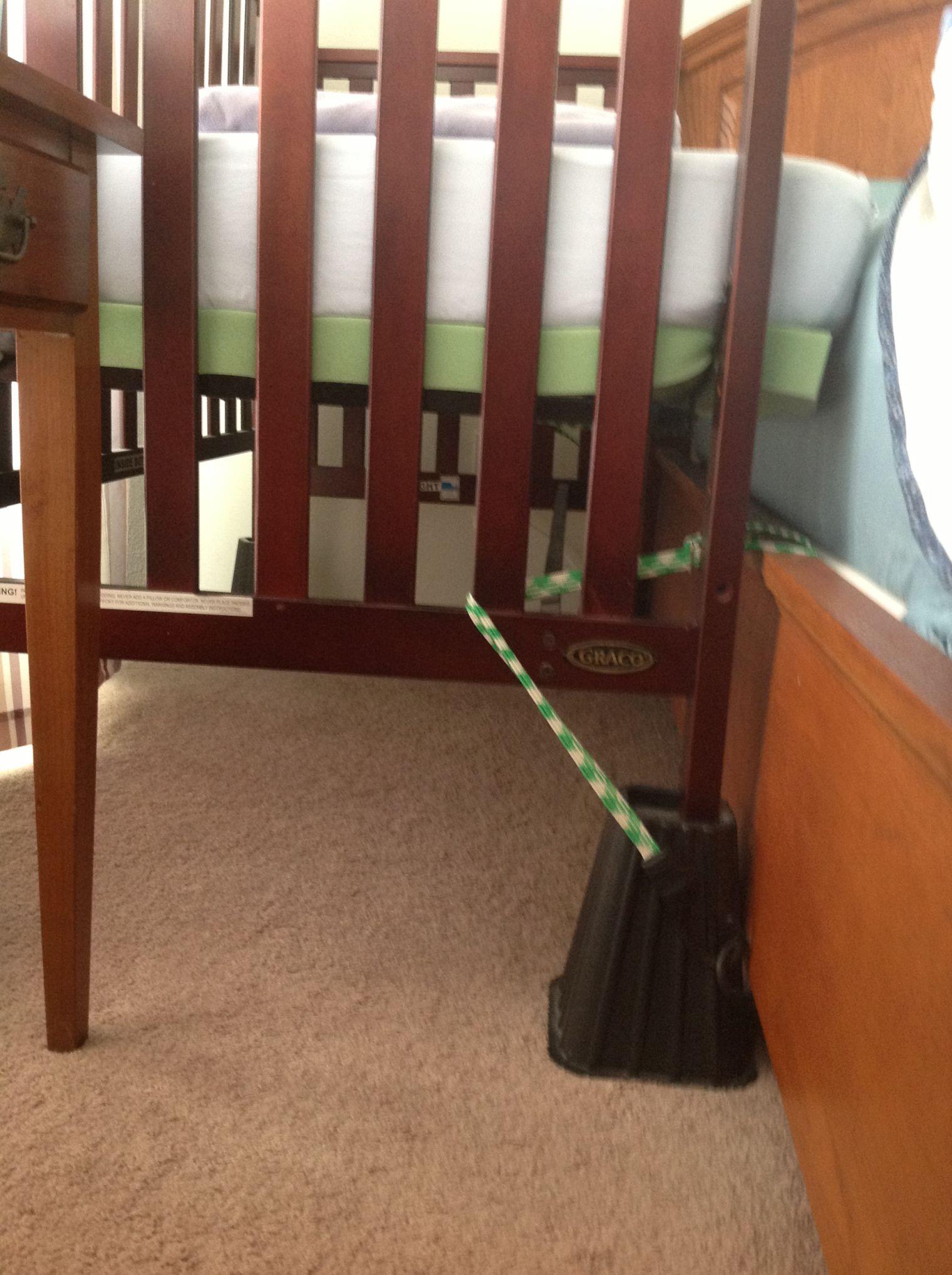 Cosleeper Risers Sidecar Crib Master Bedroom Cribs