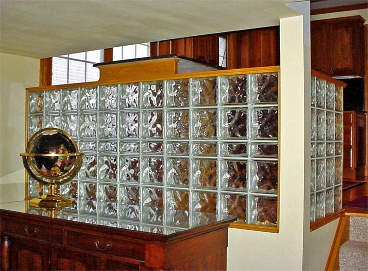 Glass Half Wall Divider Walls Amp Partitions Room