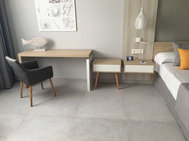 Schlafzimmer renovieren Einrichtung Schreibtisch Nachttisch #bedroom ...