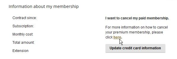 How to cancel elite singles membership