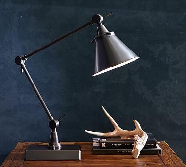 Architect S Smart Technology Adjustable Task Table Lamp Architect Lamp Architects Desk Table Lamp