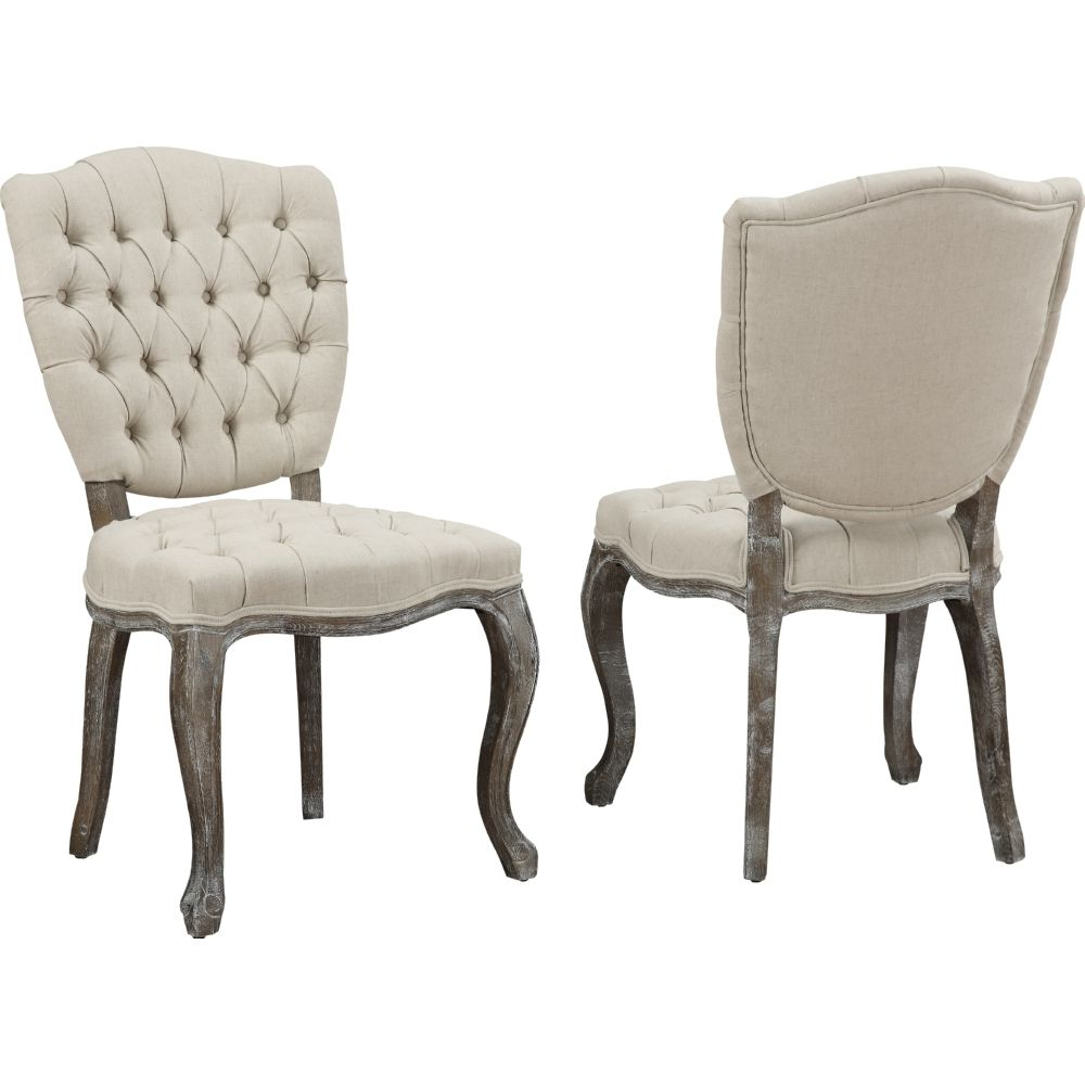 Amelia Grey Leather Weathered Oak Dining Chair Enhance Your Home And Decor With The Rustic Featuring A Solid Frame
