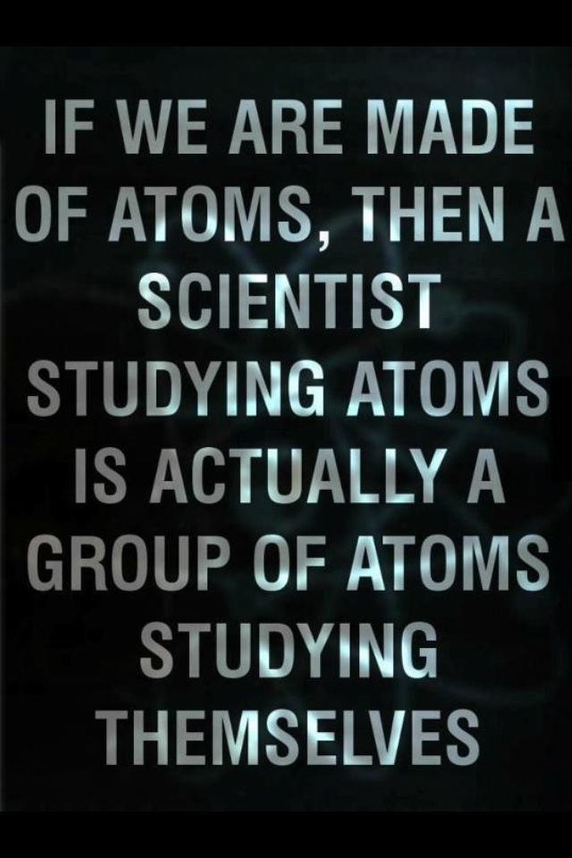 A quite large group of atoms, in fact.