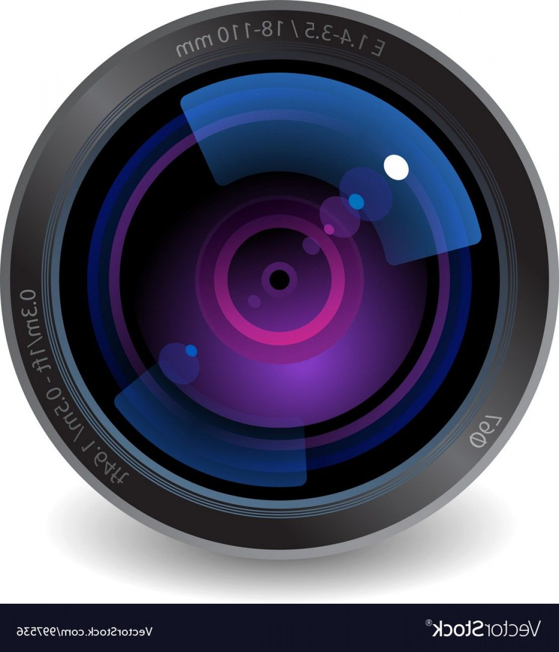 LensVector Icon For Camera Lens Vector Design Resources