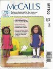 """MCCALL'S 7105 PATTERN CLOTHES, CHAIR, PILLOWS, TABLE FOR 18"""" DOLL NEW UNCUT - http://sewingpins.net/sewing-cabinets/mccalls-7105-pattern-clothes-chair-pillows-table-for-18-doll-new-uncut/"""