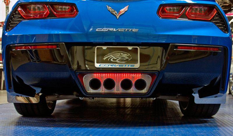 GM Licensed C7 Corvette Z06 Supercharged Carbon Fiber License Plate Frame