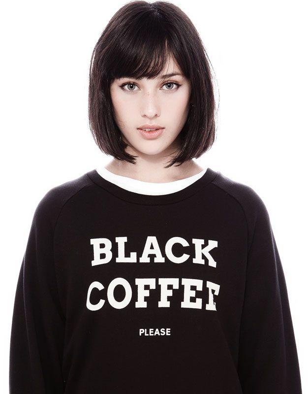 black coffee // co za śliczna mordka <3