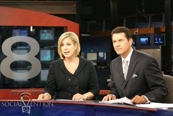 FLASHBACK to my time as a TV news anchor on KTUL Channel 8! Such amazing memories!  #Socialvention #tv #news