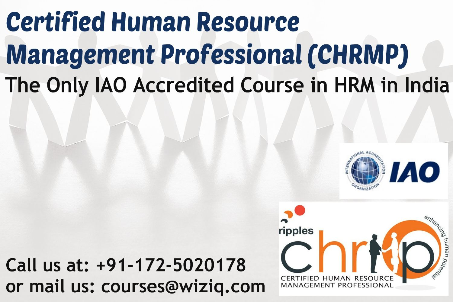 Certified Human Resource Management Professional Chrmp Online