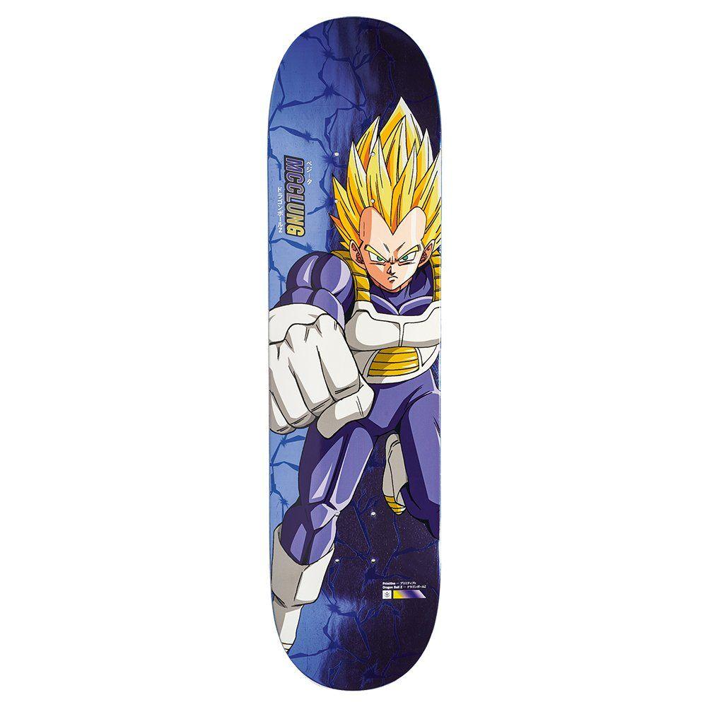 Primitive Mcclung Vegeta Power Level Skateboard Deck