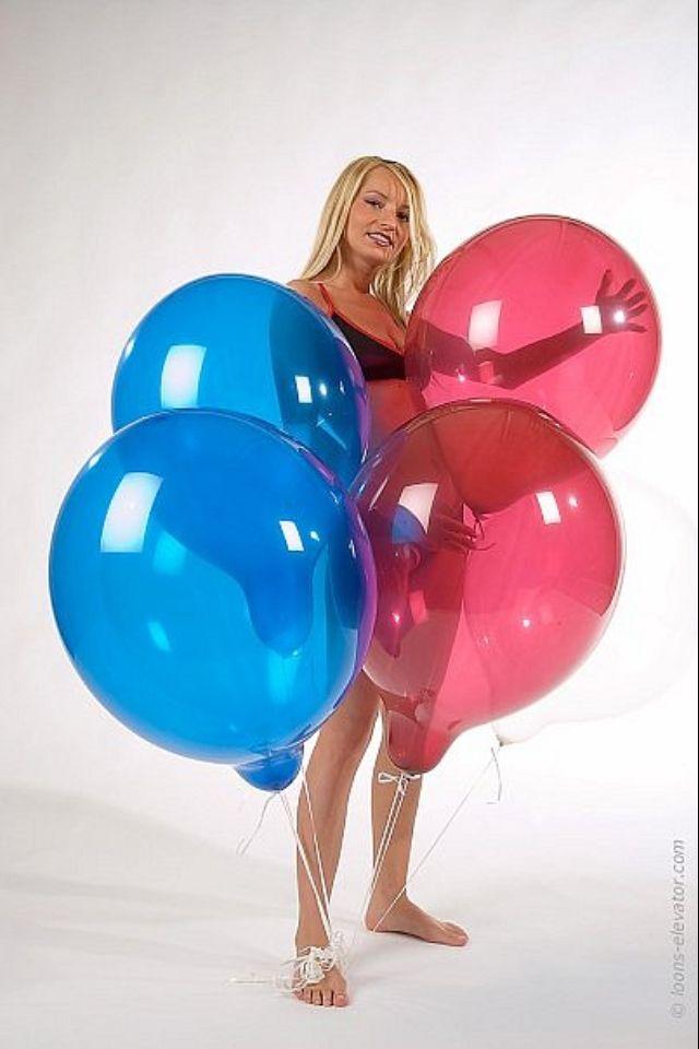 Sexy Ballons Mädchen — foto 5