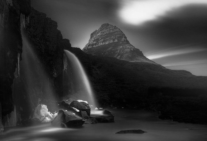 Das blaue Island: Fotos von isländischen Landschaften, aufgenommen mit Infrarot-Technologie – Keblog