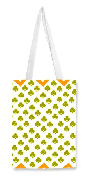 Club Card Design Tote Bags Artist  Nisha Prabhu Tote bag - club card design