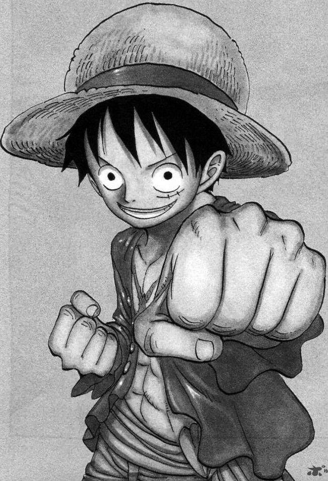 Monkey D Luffy One Piece Pinterest