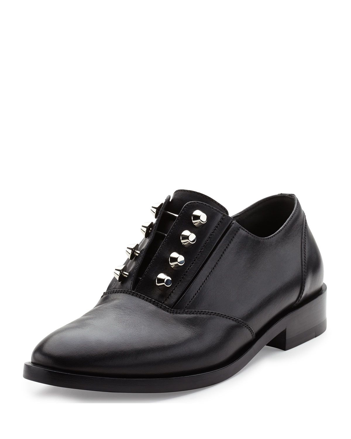 e9af60883059 Studded Leather Derby Shoe