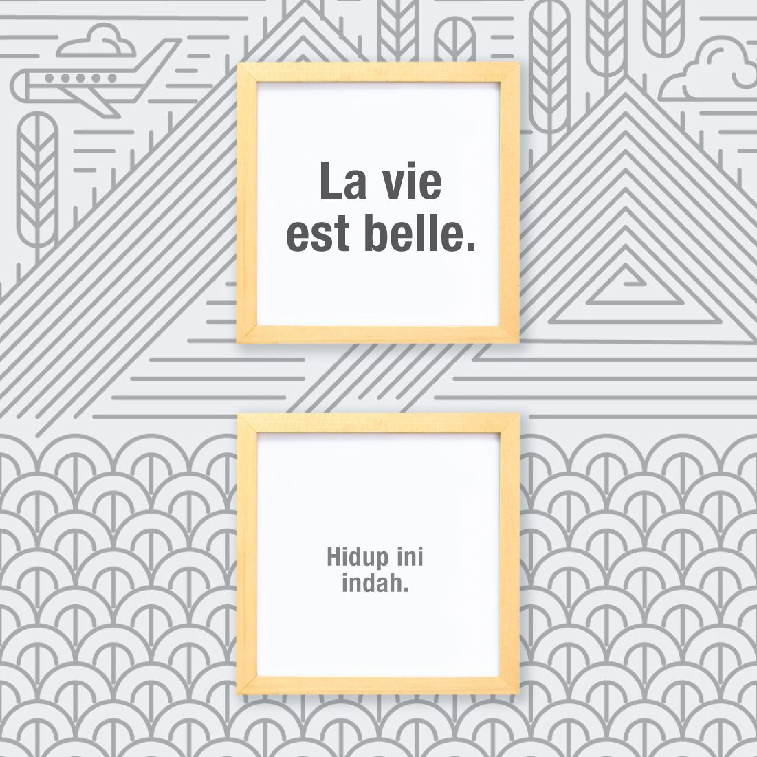 quote la vie est belle artinya hidup ini indah hidup