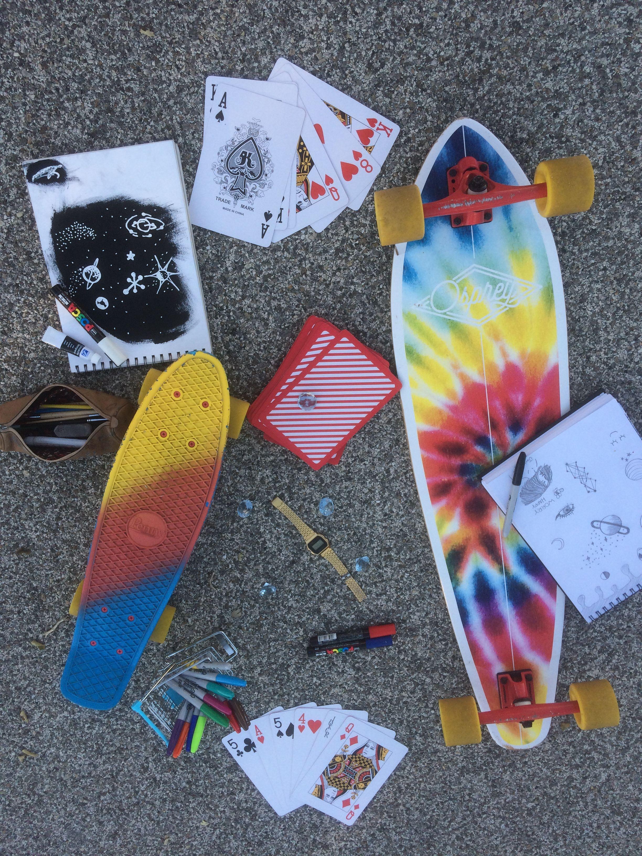 Penny Skateboard and Longboard