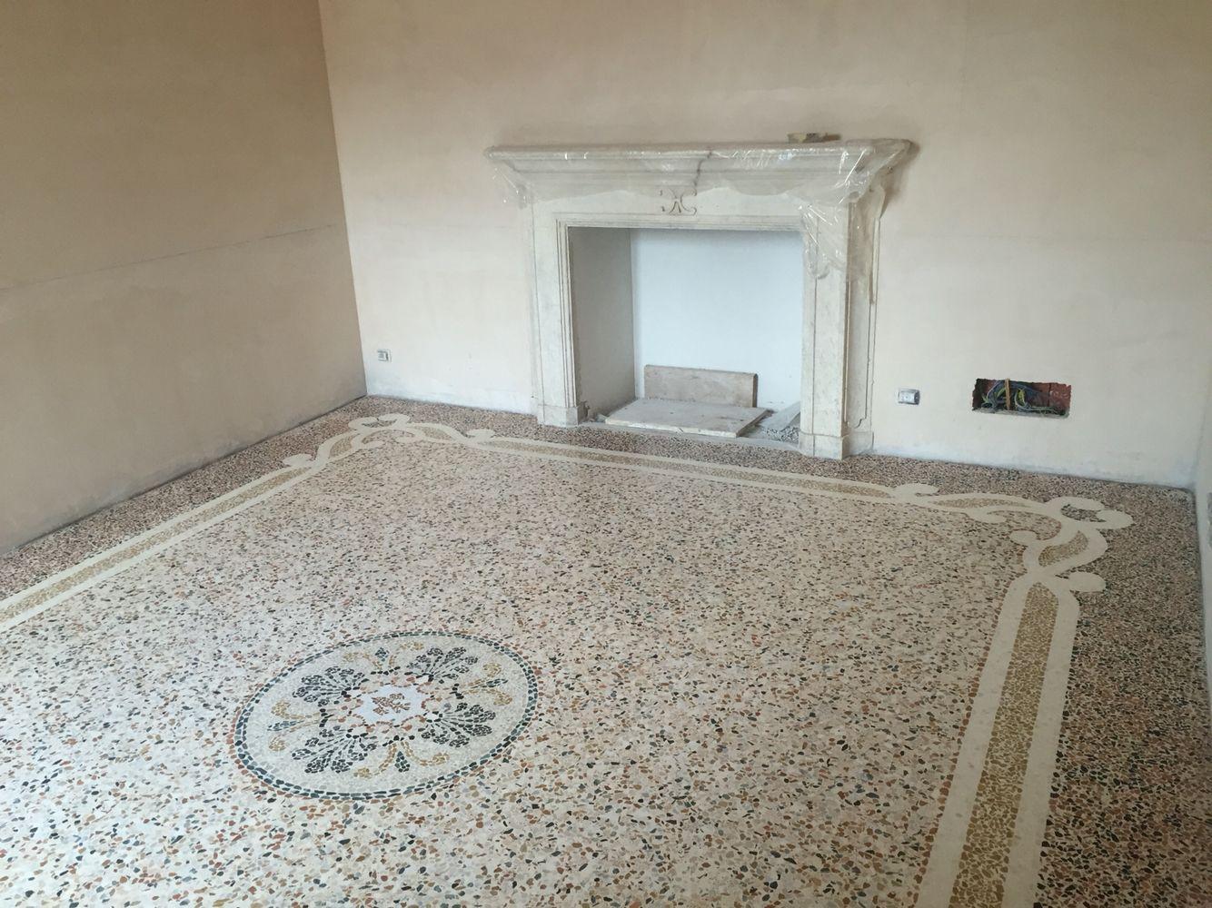 Pavimento In Terrazzo Alla Veneziana pavimento alla veneziana. fine lavoro | pavimenti