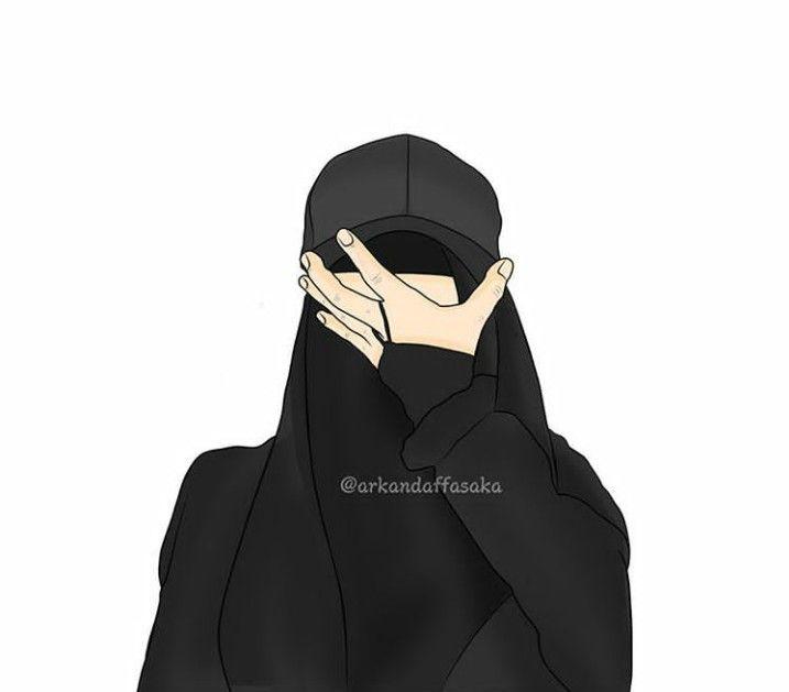 Gambar Kartun Muslimah Bercadar Dan Bertopi KHAZANAH ISLAM