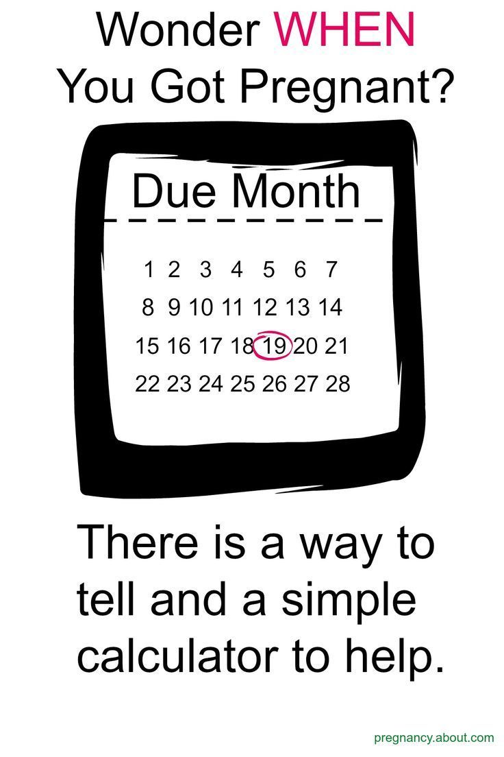 Reverse Due Date >> How A Reverse Due Date Calculator Works Pregnancy And