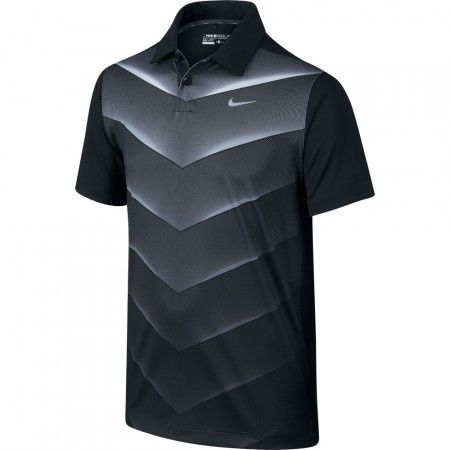 baf016767233e NEW - Nike Boy s Tiger Wood 26-Degree Fade Polo with Dri-FIT   golf ...