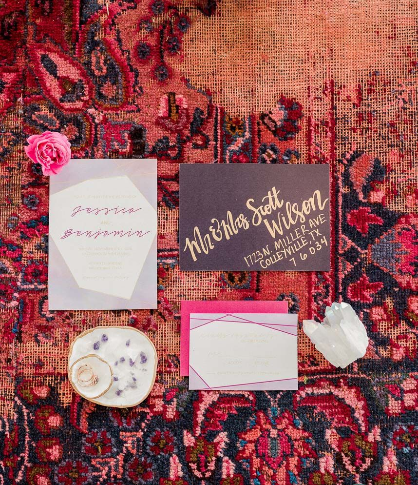 Whimsical Romance Wedding Inspiration from Events by Jade | Rose ...