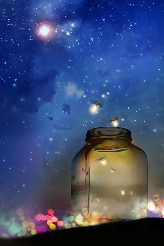 Fireflies Are Magical Night Skies Firefly Wallpaper