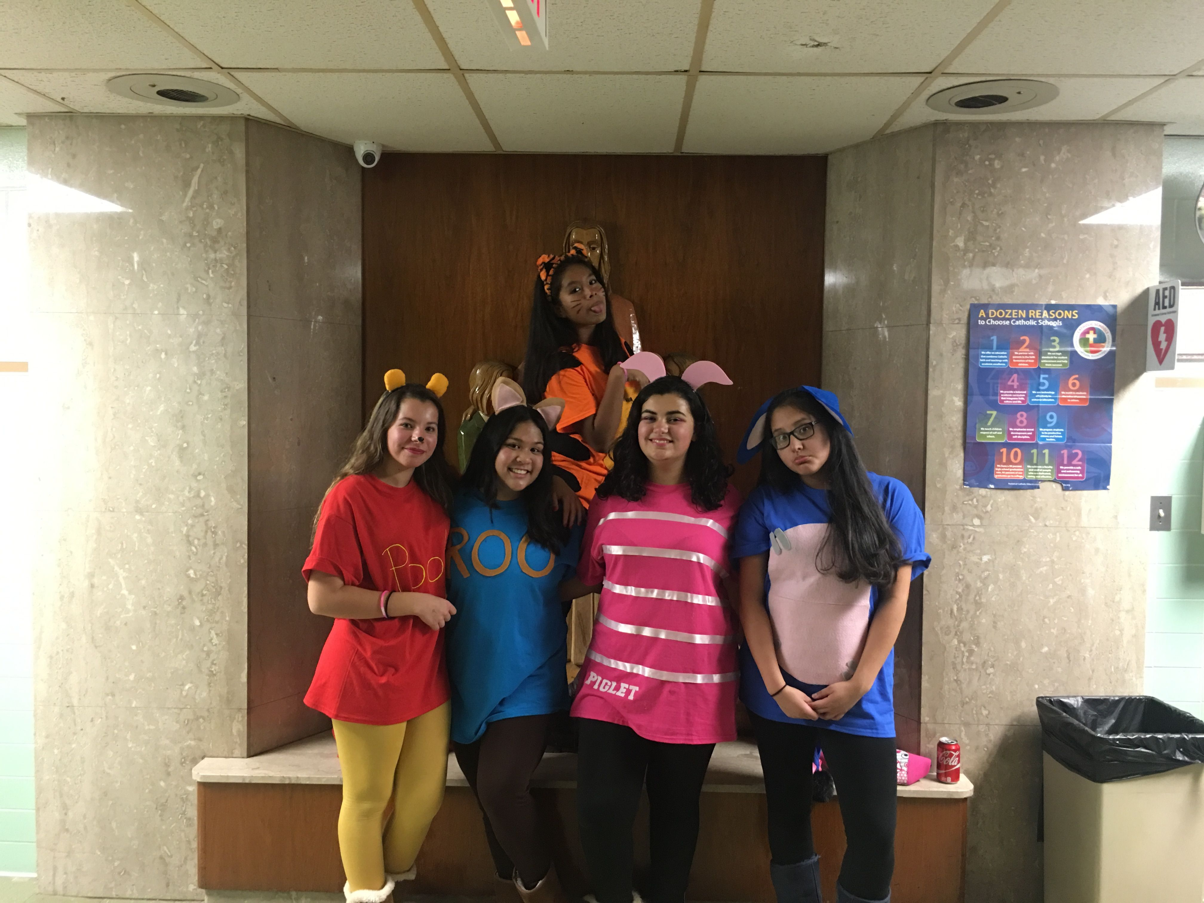 winnie the pooh🍯 || piglet, pooh, tigger, eeyore and roo halloween