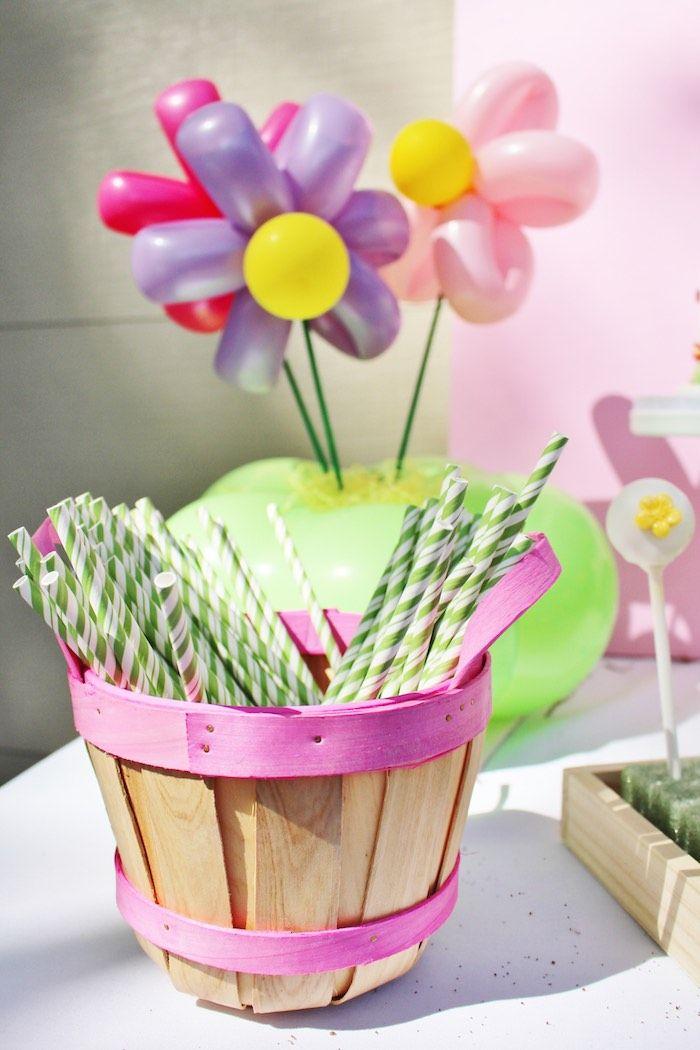 Spring Garden Birthday Party | Garden birthday parties, Garden ...