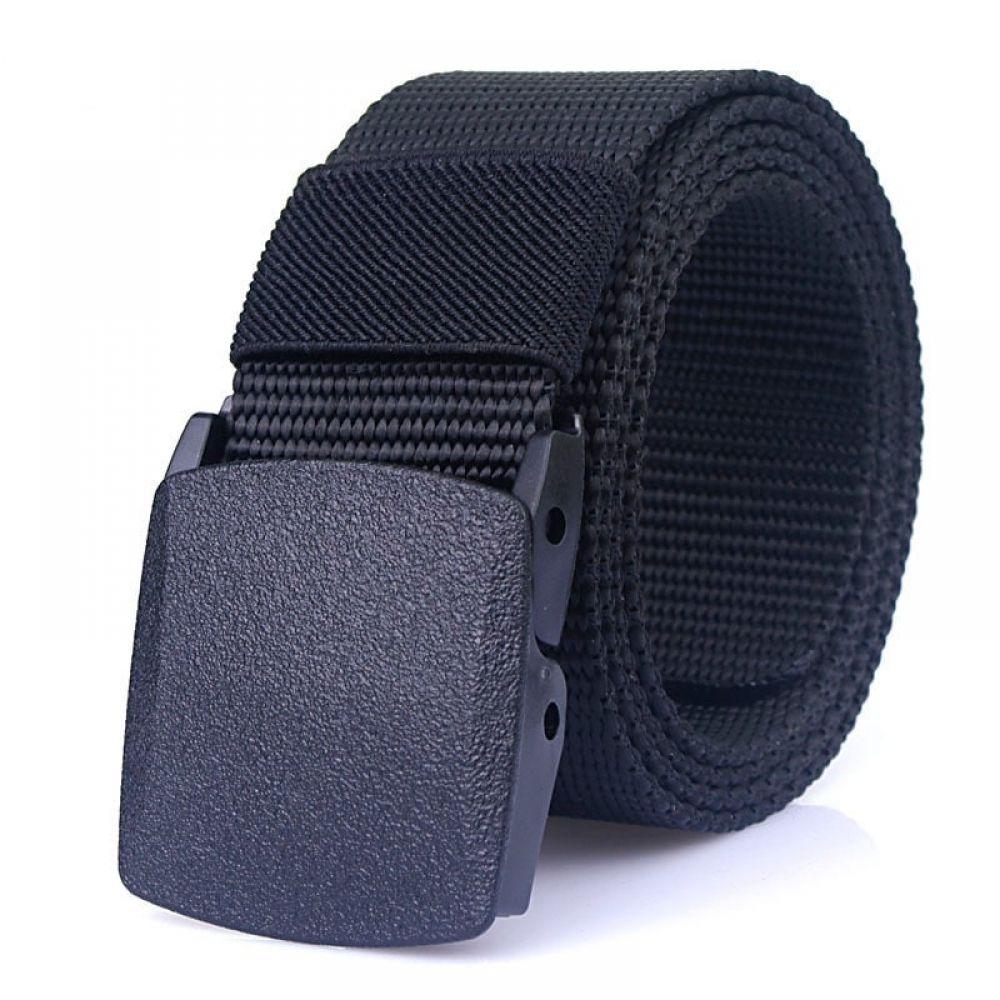 High Quality Automatic Buckle Nylon Belt For Men Mens Belts Belt