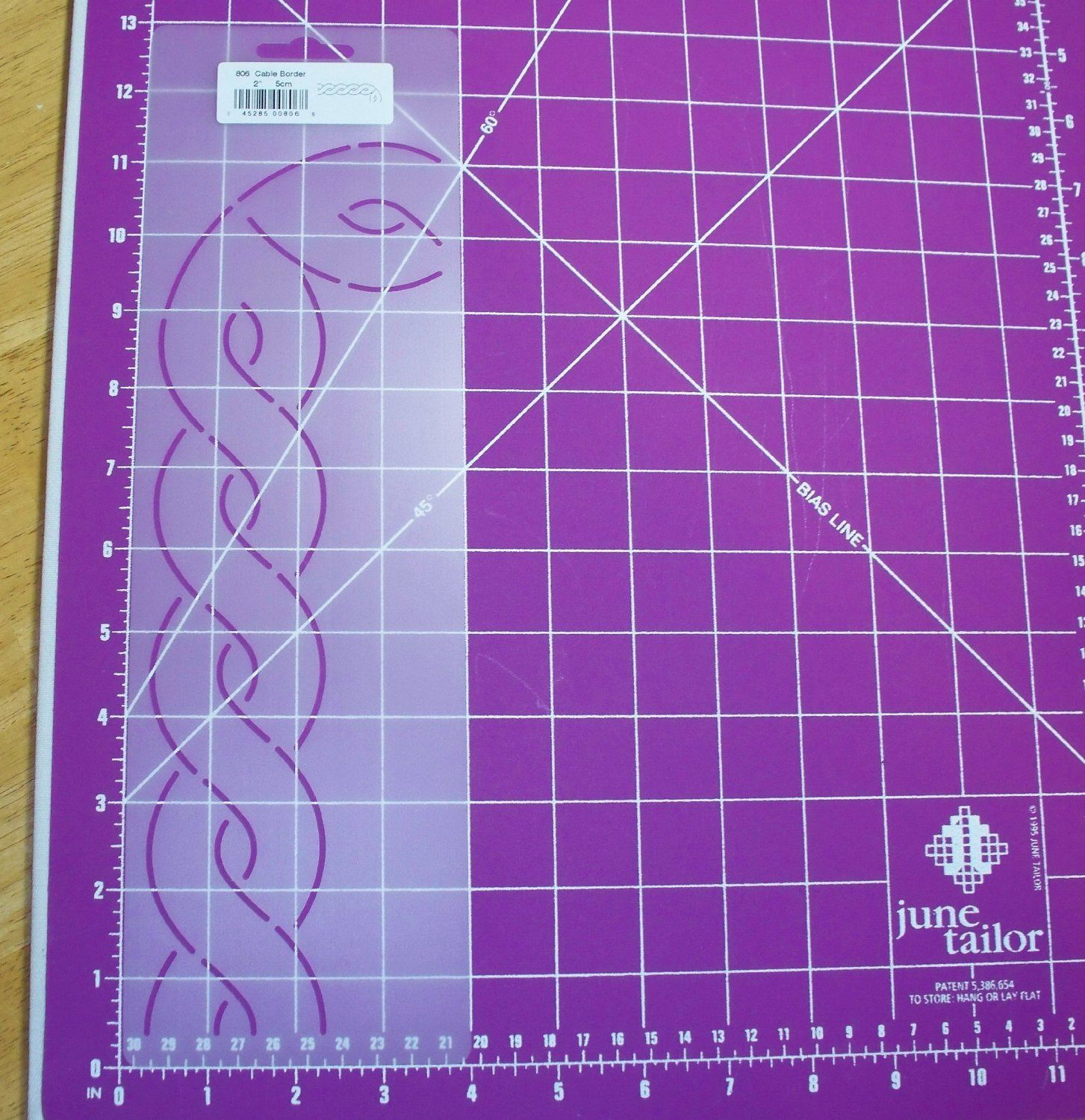 amazon com 2 cable border quilting stencil quilting information