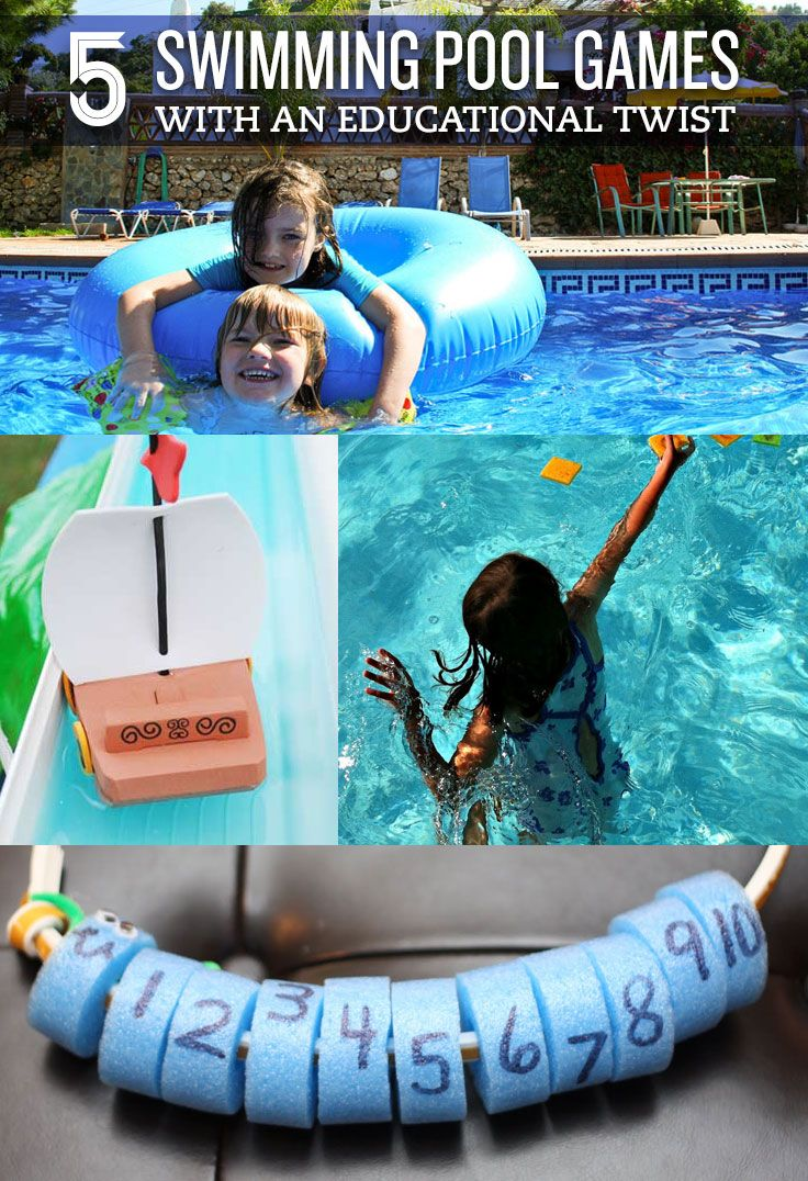 5 Swimming Pool Games with an Educational Twist Swimming