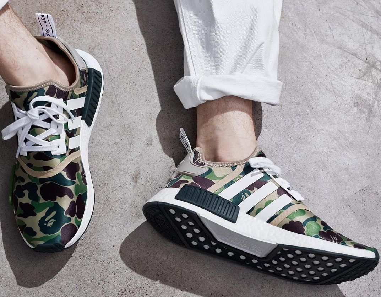 Bape Adidas weeks NMD On Feet | Paris fashion weeks Adidas | Pinterest | Adidas nmd 31624d