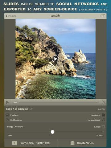 Slide X Pro ○ Slideshow Creator ○ Professional HD | iOS Apps for