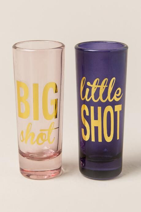 Big and Little Shot Glass Set