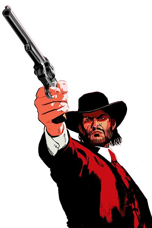 John Marston Red Dead Redemption Artwork Red Dead Redemption Red Dead Redemption Ii