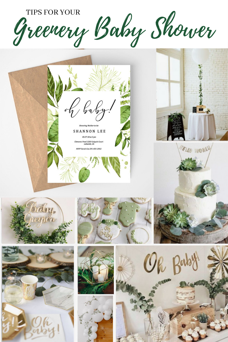 Pin On Greenery Baby Shower