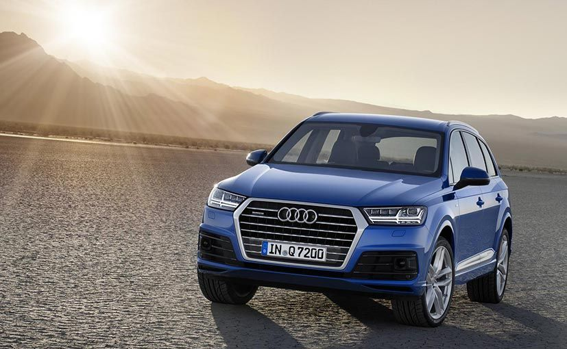 Top 10 Upcoming Cars In India 2017 Audi Q7 New Audi Q7 Audi