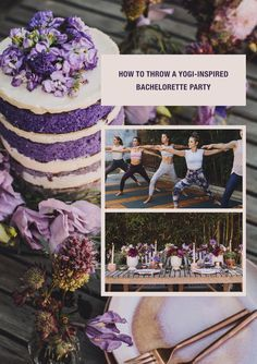 how to throw a yogi-inspired party #yoga #fitness #healthandwellness #zen #gws #greenweddingshoes