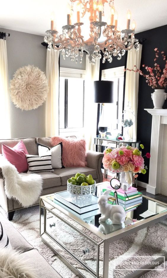 Best 14 Ideas To Style Your Home For Spring Glam Living Room 640 x 480