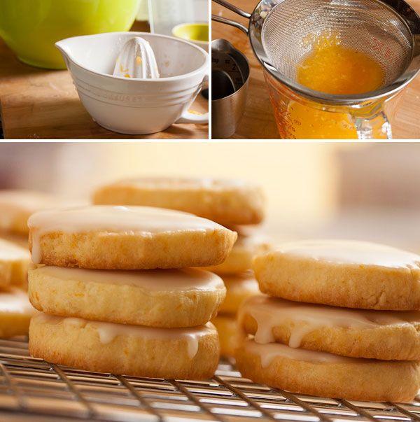 glazed orange cookies image grouping