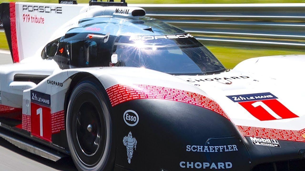Porsche 919 Smashes Nurburgring Lap Time Record Hybrid Porsche 919